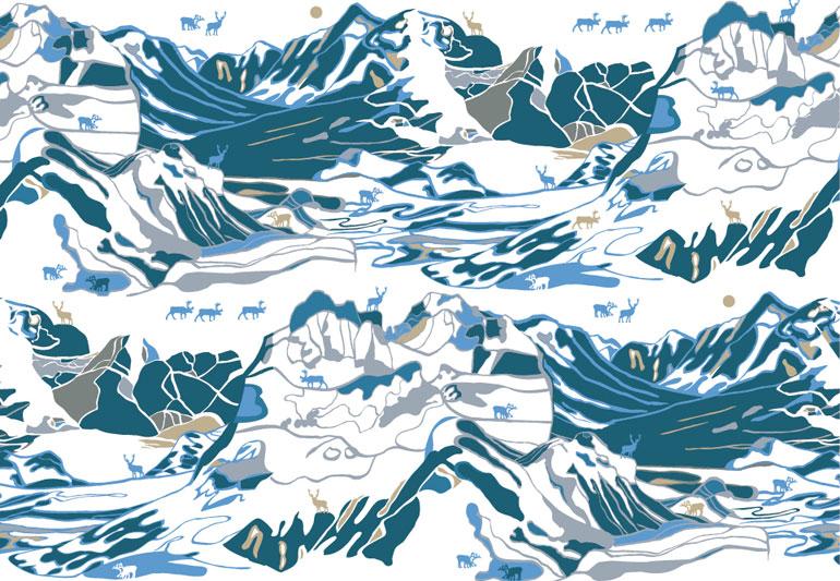 Fjall_pattern_for_Froso_Handtryck_emelie_ek_Design